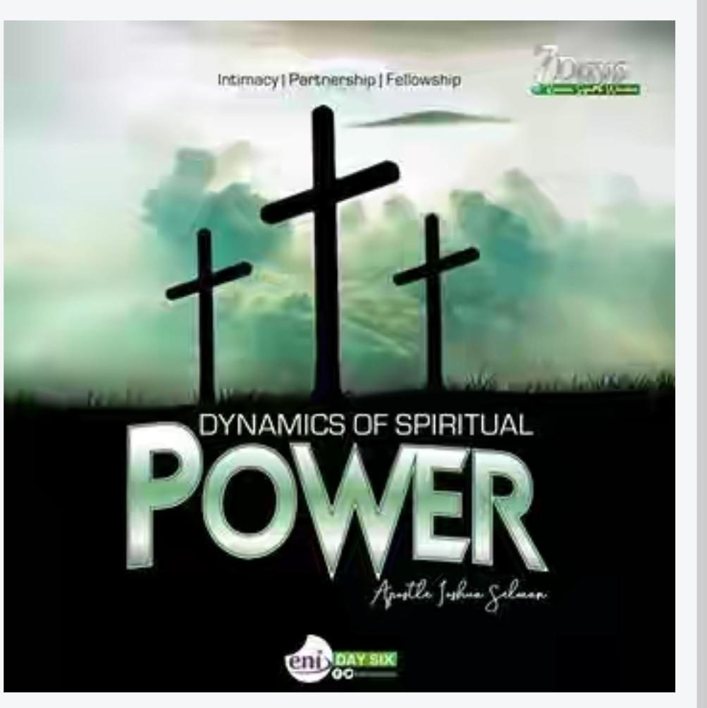 Dynamic Of Spiritual Power (Day 6) – Koinonia Revival 2019 | Apostle. Joshua Selman