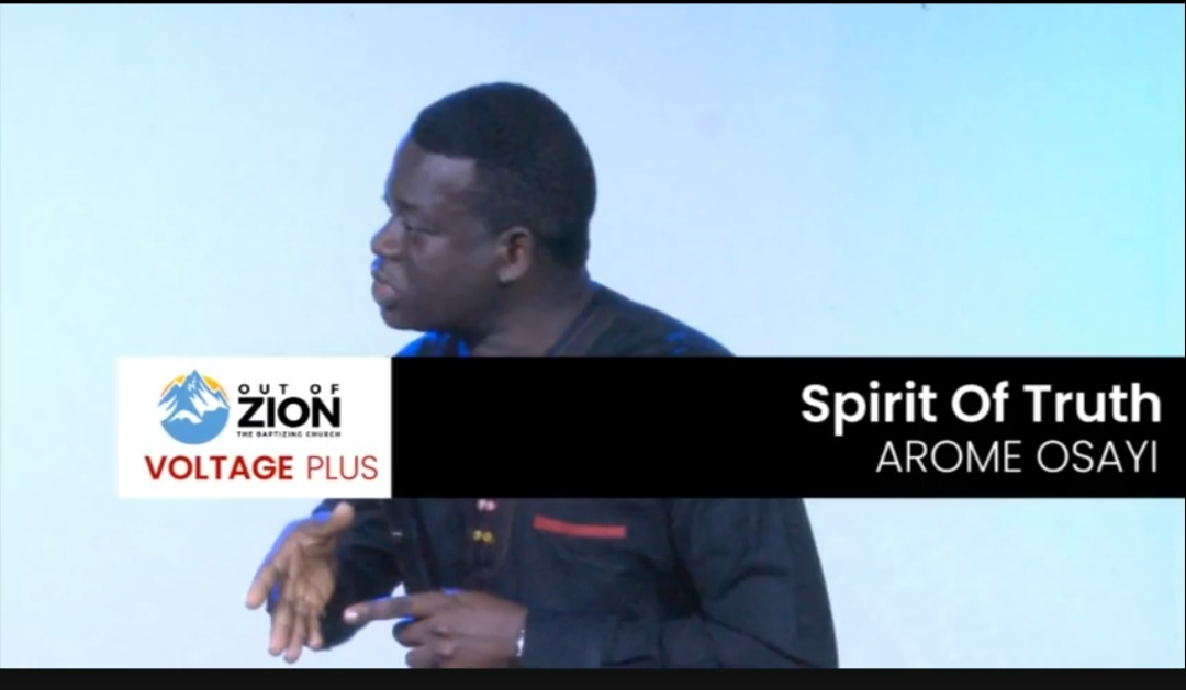 Download Sermon: The Gift Of Discernment Of Spirits | Apostle Arome Osayi