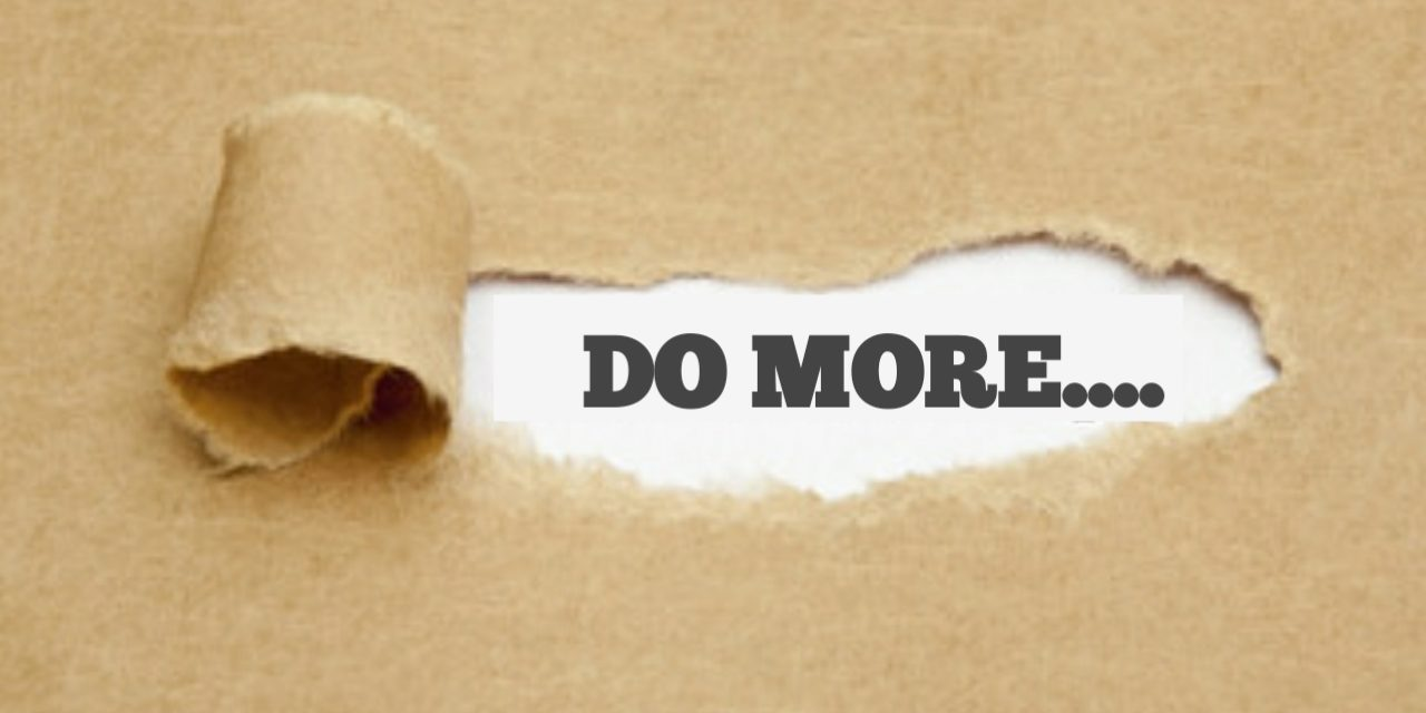 Article: DO MORE – Joseph Awanle