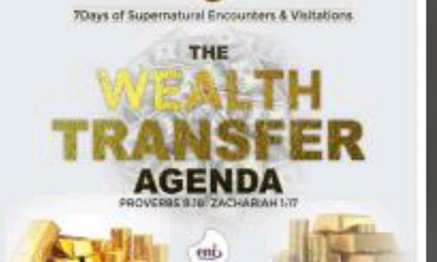Download Sermon: The Wealth Transfer Agenda – Koinonia | Apostle Joshua Selman