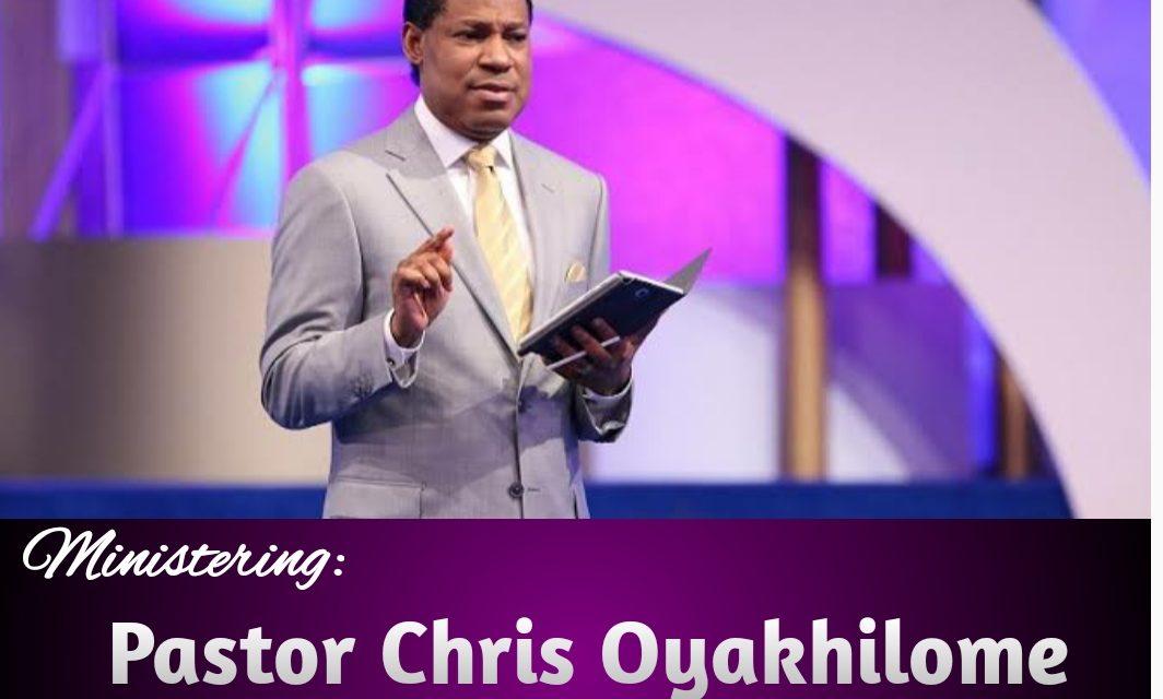 Download Sermon: Holy Spirit Your Senior Partner   Pastor Chris