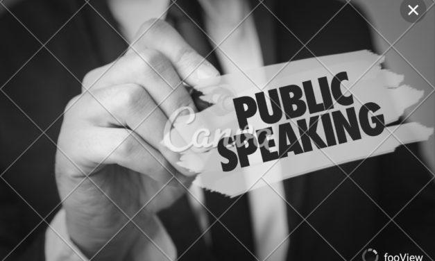 Basic Fundamentals of Public Speaking (Audio Presentation) – Eliot Shapiro