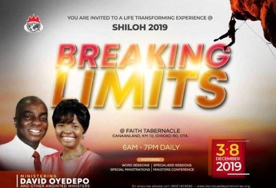 Download: REVELATION DRIVEN FAITH – SHILOH 2019   Bishop David Oyedepo