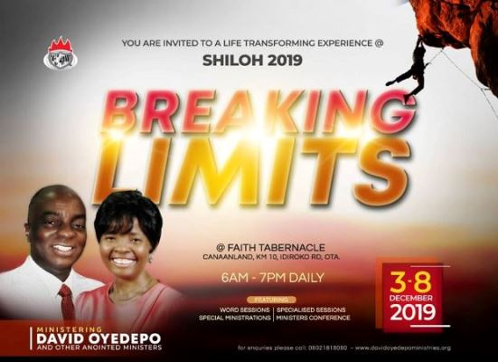 Download Shiloh 2019 messages