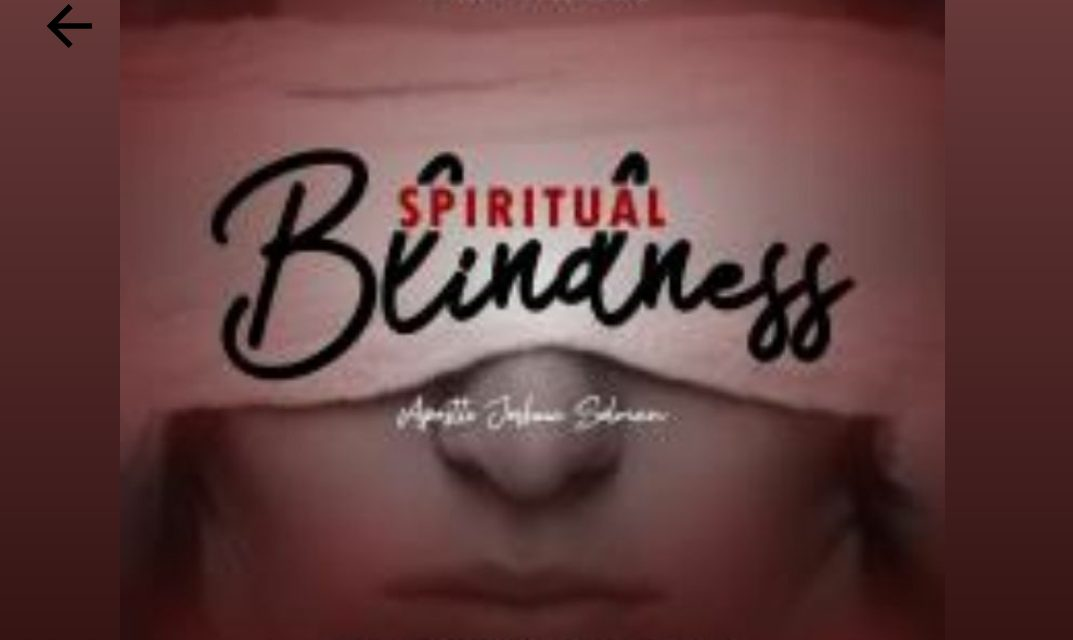 Download Sermon: Spiritual Blindness – Koinonia 2020 | Apostle Joshua Selman