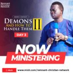 Download Sermon: DEMONS AND HOW TO HANDLE THEM | Apostle Arome Osayi