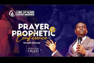 apostle arome osayi messages 2021