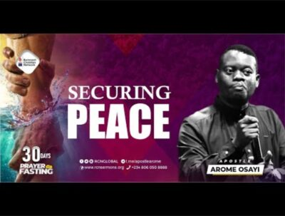 Apostle Arome Osayi 2021 messages